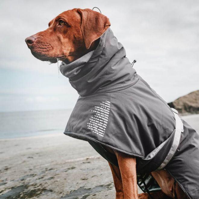 Hurtta Expedition Vinterjakke beetroot Hundeklær Hundedekken