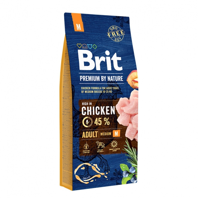Brit Premium by Nature Adult M 15kg