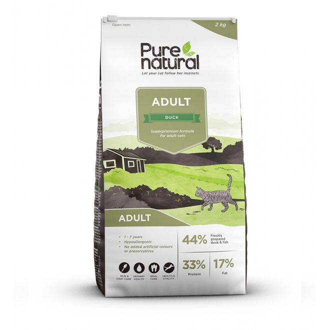 Purenatural Cat Adult Duck (2 kg)