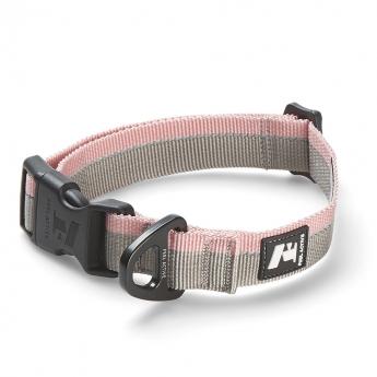 Feel Active Stripe Halsband Grå/Rosa