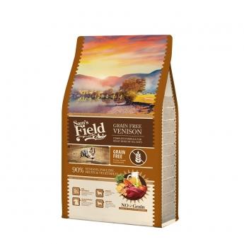 Sam´s Field Adult Grain Free Venison (2,5 kg)