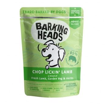 Barking Heads Chop Lickin Lamb 300 g**