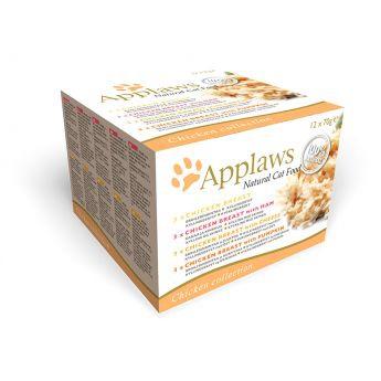 Applaws Cat Kyckling (12 x 70 g)