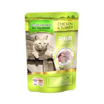 Natures:menu Kyckling & Kalkon (100 gram)