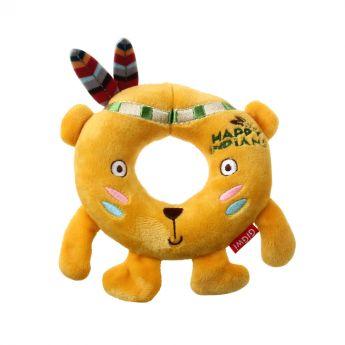 GiGwi Happy Indians Ring Lejon (Gul)