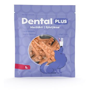 Dental Plus Sjöstjärna 3-pack (L)**