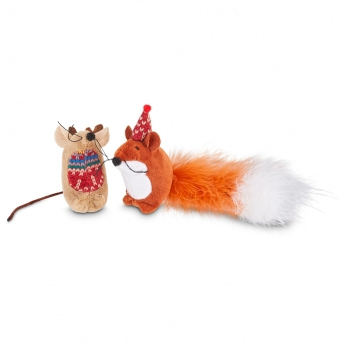 PCO Holiday Moose & Fox Möss 2-pack