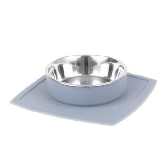 Basic Vacumatt med 1 skål grå**