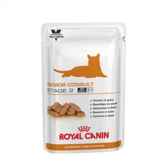 Royal Canin Veterinary Care Cat Senior Stage 2 Våtfoder Multipack**