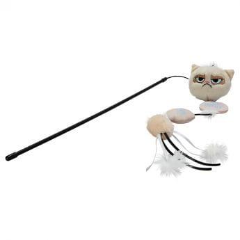 Grumpy Cat Go Away-Vippa (Mångfärgad)