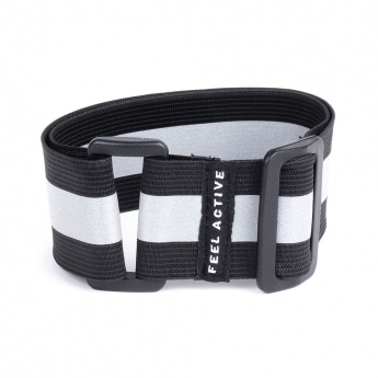 Feel Active Reflective Strap Black