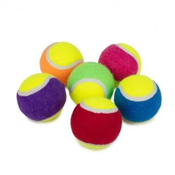 Little&Bigger Tennisbollar 6-pack Multicolor