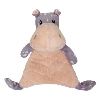 Bark-a-Boo MiniPaws Tuff Flatty flodhäst