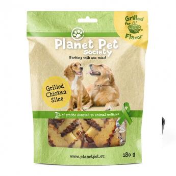 Planet Pet Society Dog Grilled Chicken Slice 180 g**