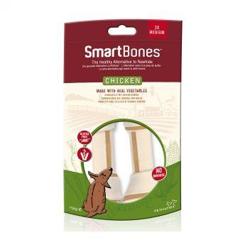 SmartBones Kyckling Medium 2 Pk