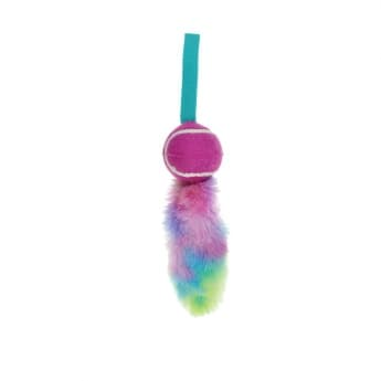 Bark a Boo Dogicorn Rainbow FurTug w/handle