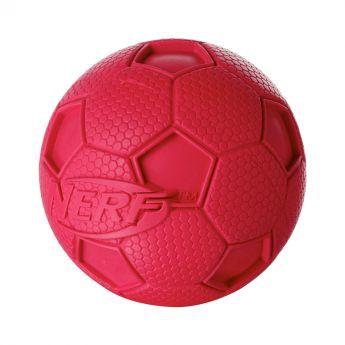 Nerf Soccer Squeak boll (Röd)**