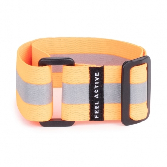 Feel Active Reflective Strap Orange