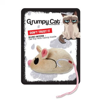 Grumpy Cat Blind Mus (Mångfärgad)