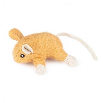 Little&Bigger Wool mus (Ljusbrun)