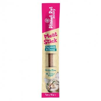 Planet Pet Meat stick, salmon-trout, 1 pc, 5 g**