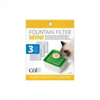 Catit Mini Flower Fountain Filter 3-pack