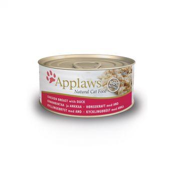 Applaws Cat Kyckling & Anka (70 gram)**