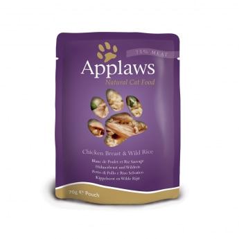 Applaws Kyckling & Vildris 70 g