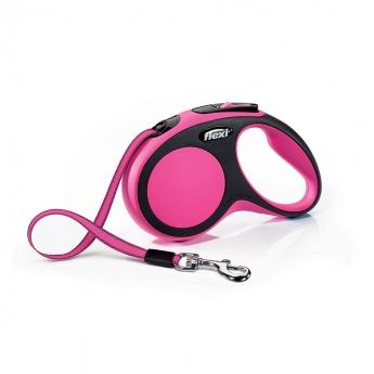 Flexi New Comfort S Tape 5m/15kg (Rosa)