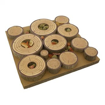 Rosewood Maze-A-Log Godisutmaning