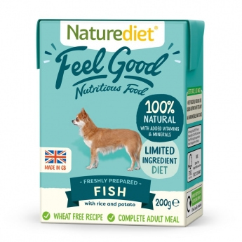 Naturediet Feel Good Fisk (200 g)