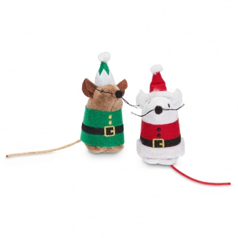 PCO Holiday Santa & Elf Möss 2-pack