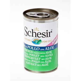 Schesir Kitten Chicken & Aloe (140 gram)