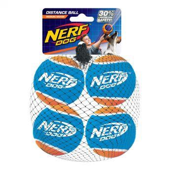Nerf Tennis Ball Blaster Distance Refill 4pk (Mångfärgad)**
