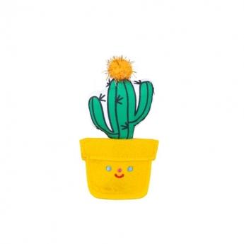 Little&Bigger Fiesta&Siesta Kaktus i Gul Kruka