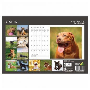 Magnet&Steel 2018 Kalender Staffy Desk**