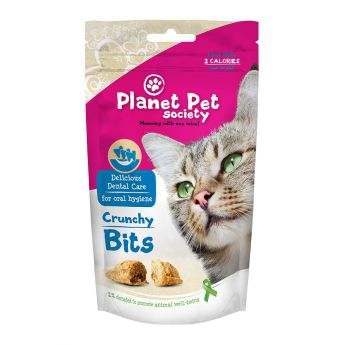 Planet Pet Society Crunchy Bits Dental Care (40 gram)