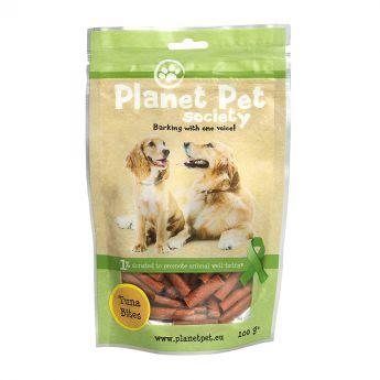 Planet Pet Dog Tonfiskbitar (100 gram)**
