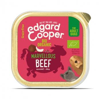 Edgard & Cooper Dog Ekologiskt Nötkött 100 g**