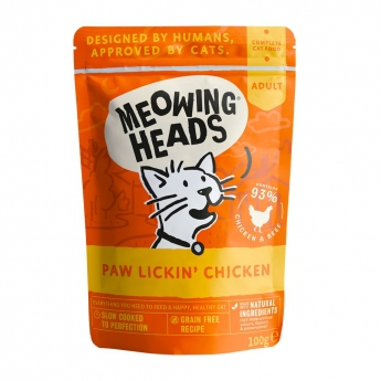 Meowing Heads Paw Lickin Chicken 100 g