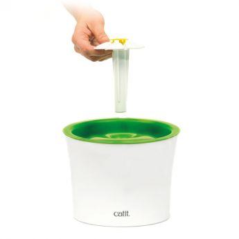 Catit 2.0 Vattenfontän Flower (Vit)