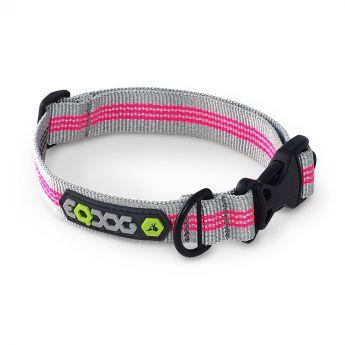 EQDOG Classic Halsband Mörkgrå/Rosa
