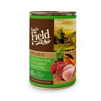 Sam's Field Puppy Chicken & Veal 400 g