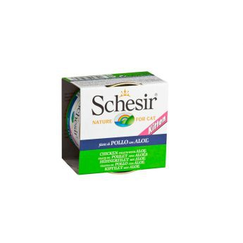 Schesir Kitten Chicken & Aloe (85 gram)
