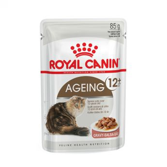 Royal Canin Ageing +12 in Gravy (85 gram)