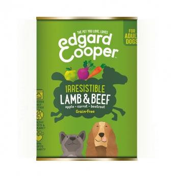 Edgard & Cooper Dog Lamm & Nötkött (400 gram)**