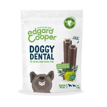 Edgard & Cooper Doggy Dental Tuggpinnar Äpple & Eukalyptus 7-pack (S)
