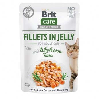 Brit Care Cat Adult Tonfisk i Gelé 85 g