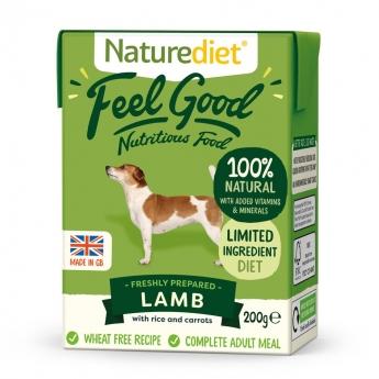 Naturediet Feel Good Lamm (200 g)