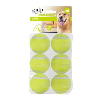 All For Paws Hyper Fetch Extrabollar 6 st